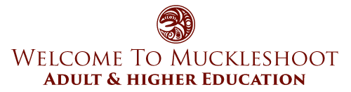 Muckleshoot Adult & Higher Education Logo